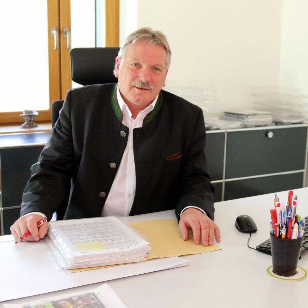 Siegfried Fischer, 1. Bürgermeister