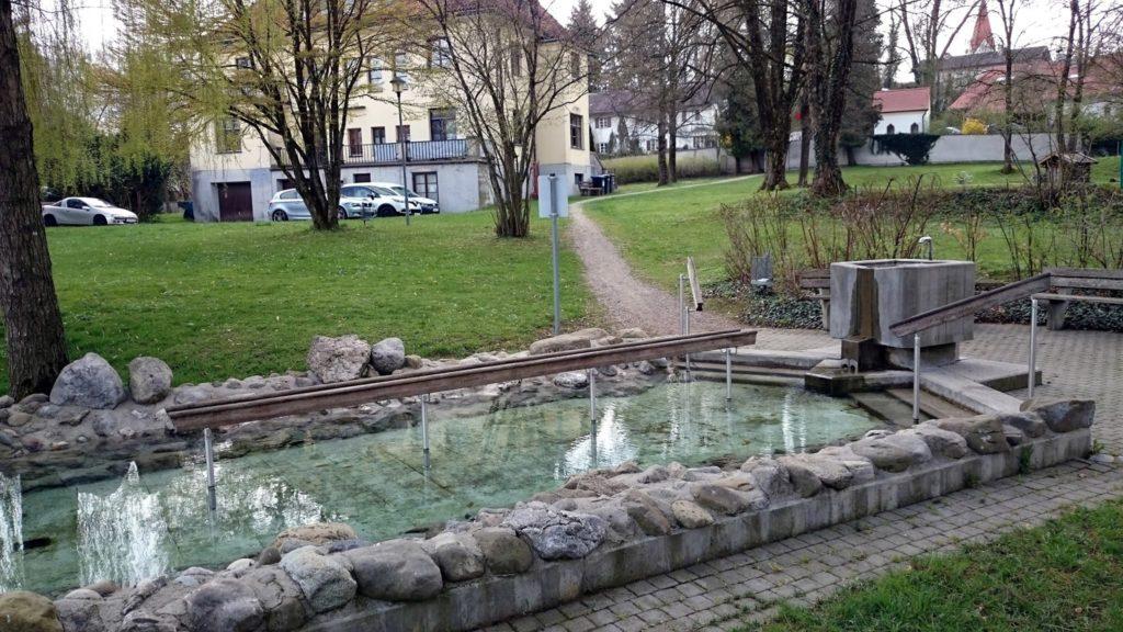Kneippanlage Isen, Meindl Park