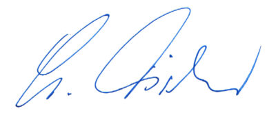 Unterschrift, Siegfried Fischer