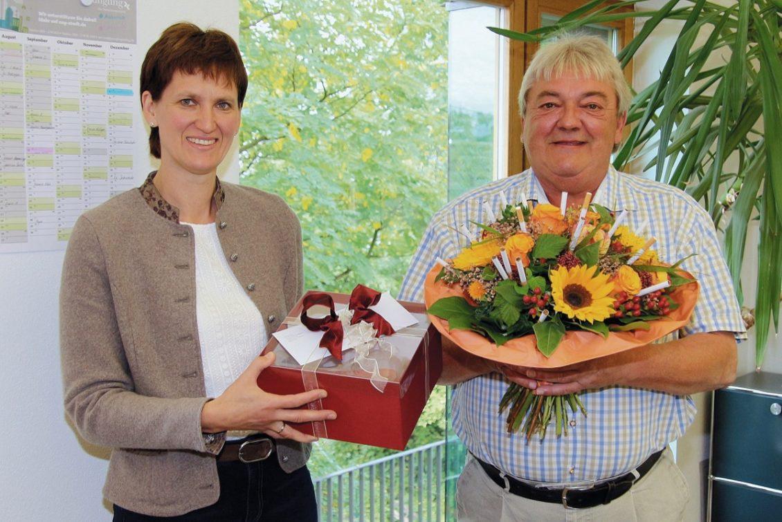Franz Bauer in den Ruhestand verabschiedet